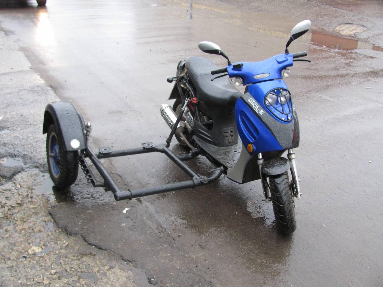 Как сделать прицеп из коляски от мотоцикла